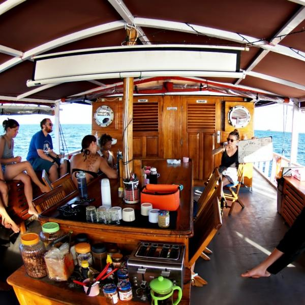 Dive Briefing on Ratu Laut Liveaboard