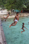 Vilaage kids on Barefoot Conservation Raja Ampat project